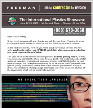 International Plastics Showcase Announcement