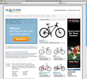 Mazlow Bike Finder